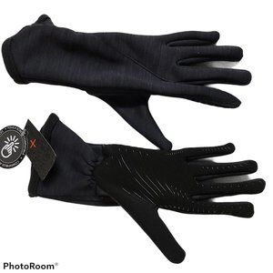 Cuddl Duds Touchscreen gloves NWOT lined black